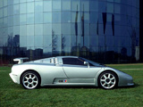 Pictures of Bugatti EB110 SS Prototype 1992