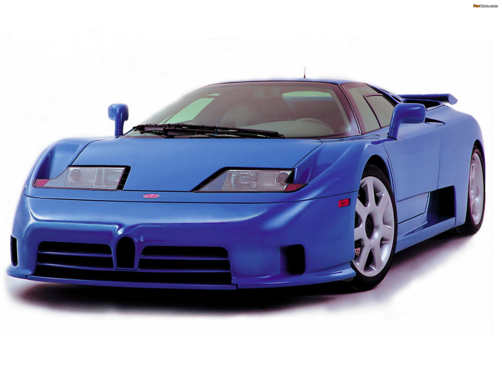 Pictures of Bugatti EB110 SS by Dauer 1998–99 (2048 x 1536)