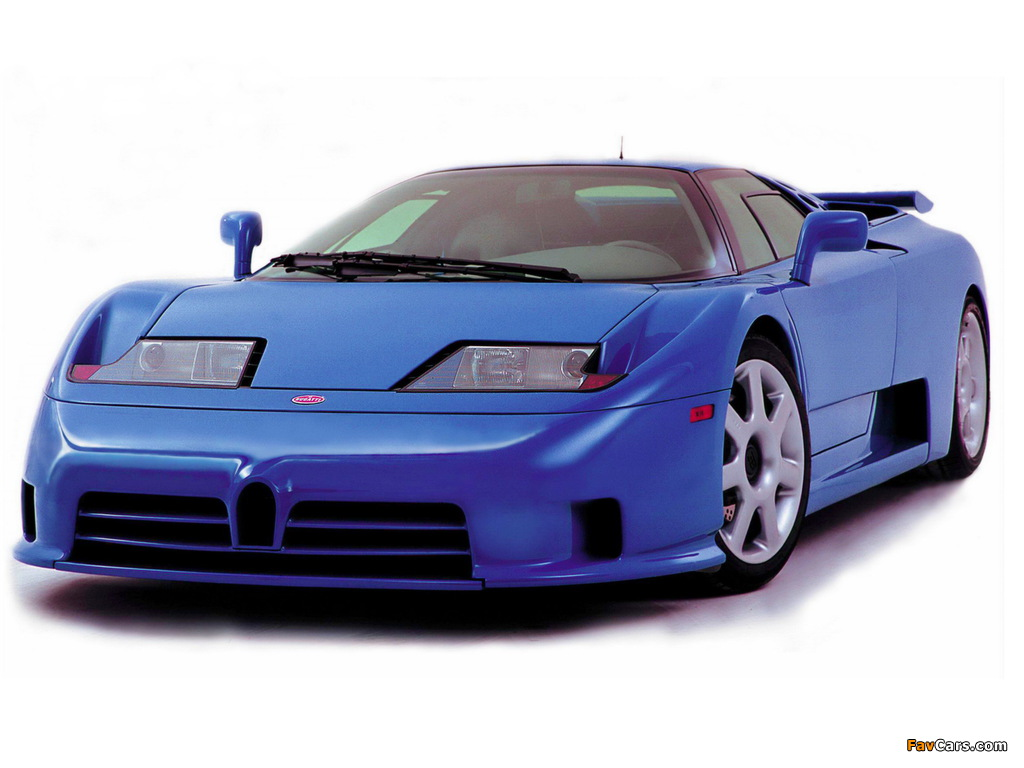 Pictures of Bugatti EB110 SS by Dauer 1998–99 (1024 x 768)