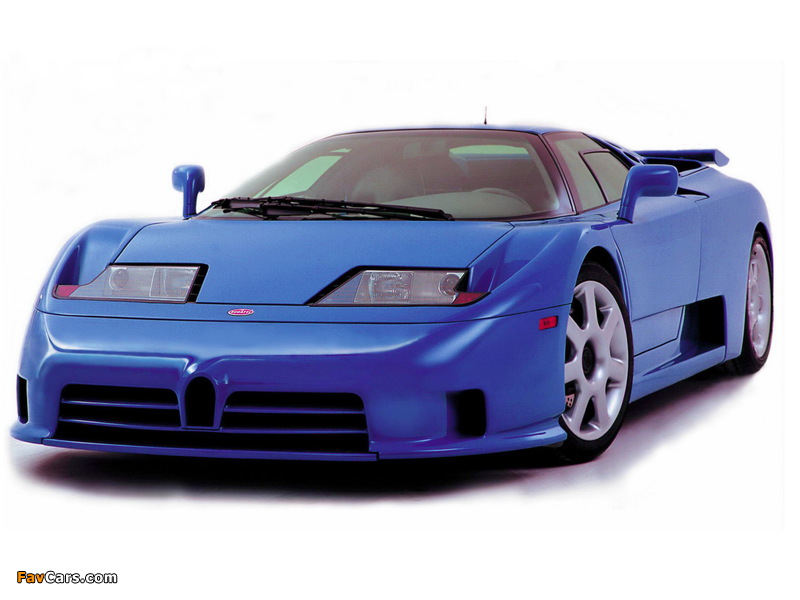 Pictures of Bugatti EB110 SS by Dauer 1998–99 (800 x 600)