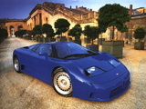 Bugatti EB110 GT Prototype 1991 wallpapers
