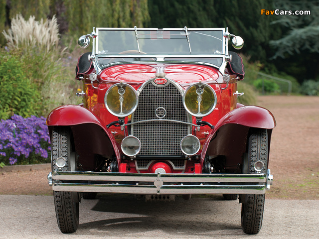Bugatti Type 40 Roadster 1929–30 photos (640 x 480)