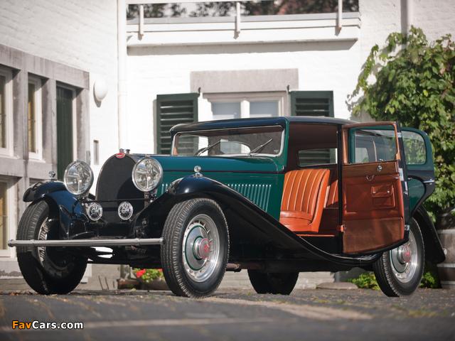 Bugatti Type 46 Sports Saloon La Pette Royal 1930 wallpapers (640 x 480)