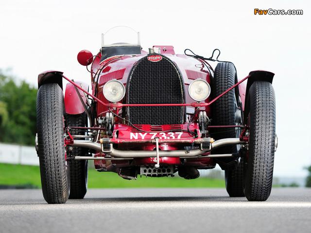 Pictures of Bugatti Type 51 Grand Prix Lord Raglan 1933 (640 x 480)