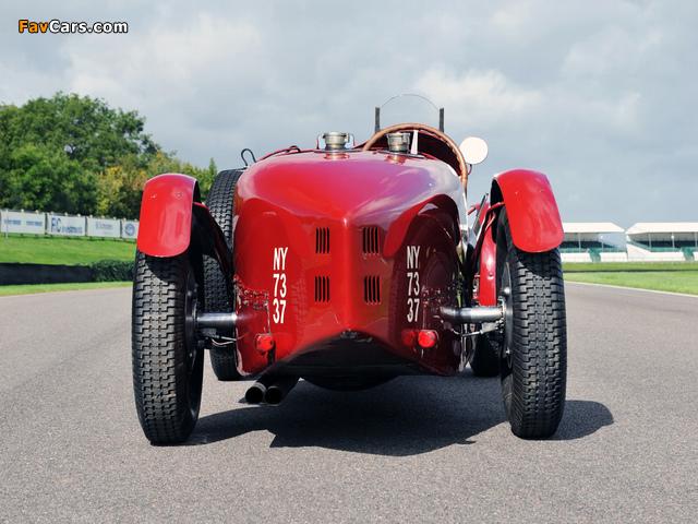 Bugatti Type 51 Grand Prix Lord Raglan 1933 wallpapers (640 x 480)
