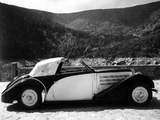 Bugatti Type 57S Cabriolet by Gangloff 1935 wallpapers