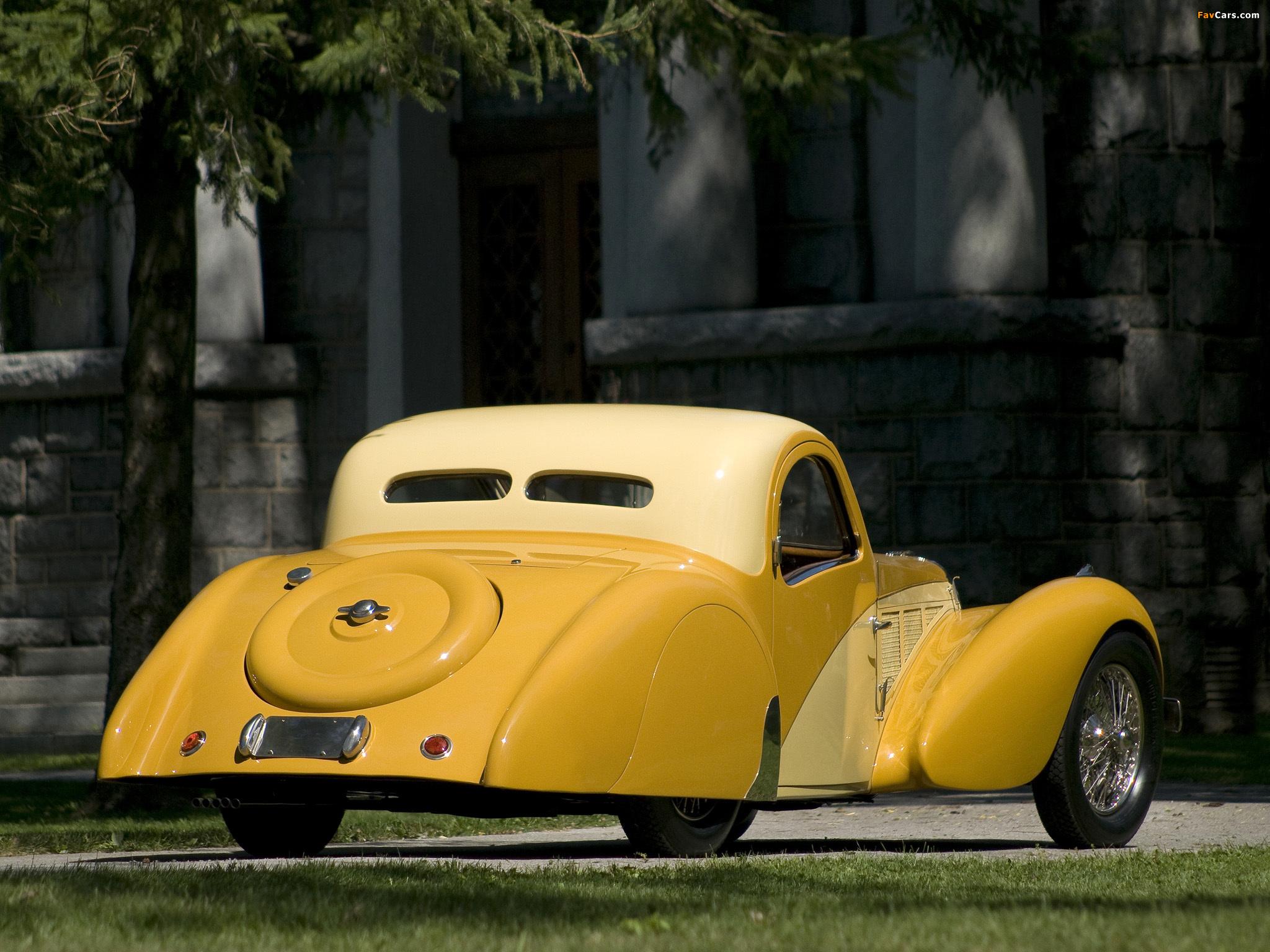 Bugatti Type 57SC Atalante 1936–38 wallpapers (2048 x 1536)