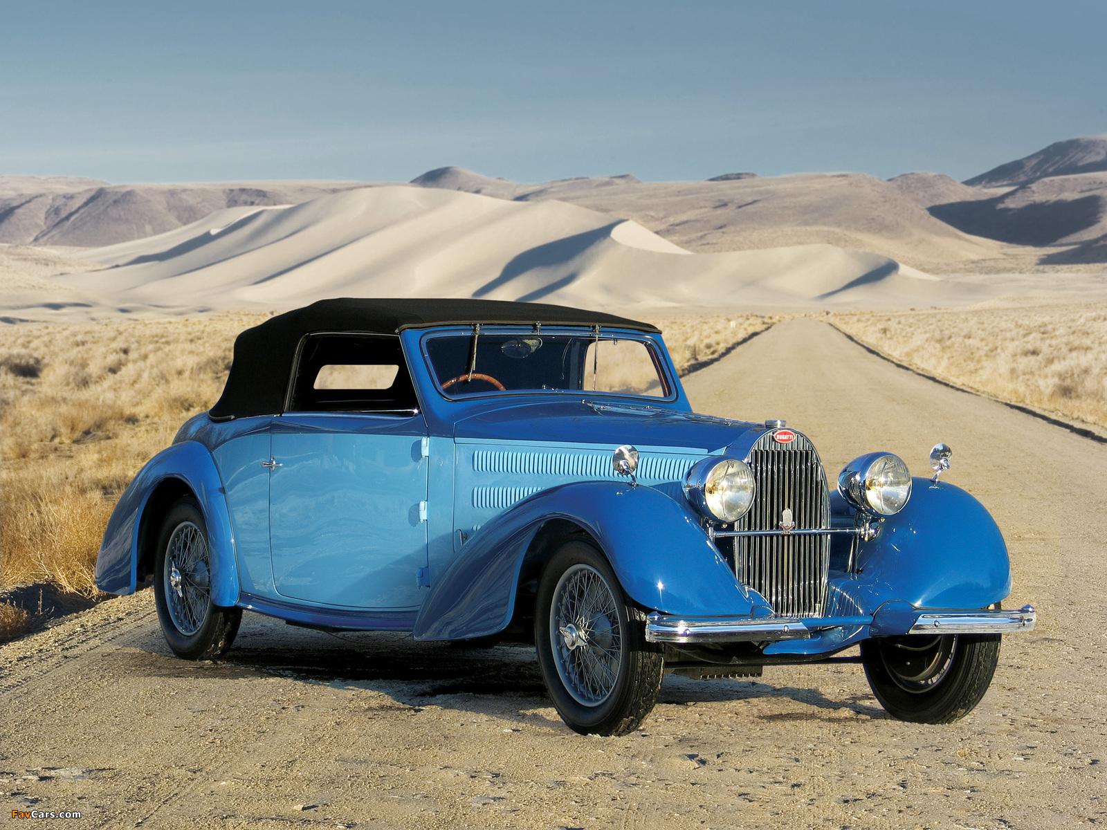 Bugatti Type 57 Stelvio Drophead Coupe 1937–40 images (1600 x 1200)