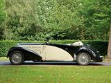 Bugatti Type 57C Stelvio Cabriolet by Gangloff (№57467) 1937 images