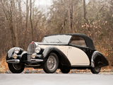 Bugatti Type 57C Drophead Coupe by Letourneur & Marchand 1939 pictures