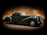 Bugatti Type 57C Atalante by VanVooren 1939 wallpapers