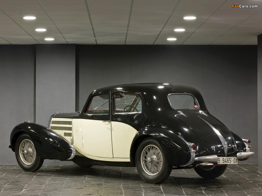 Photos of Bugatti Type 57C Berline 1937 (1024 x 768)