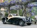 Photos of Bugatti Type 57 Atalante Roll-Back Coupe 1936