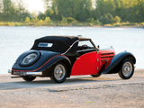 Bugatti Type 57 Stelvio Cabriolet by Gangloff (№57569) 1938 wallpapers