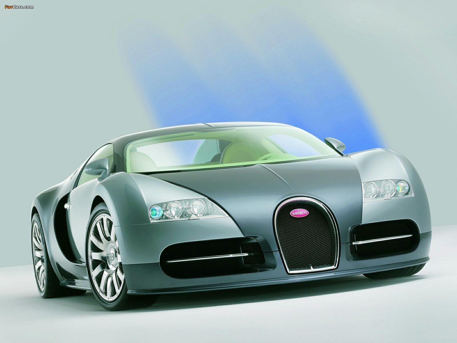 Bugatti Eb 164 Veyron Prototype 2003 Wallpapers 1600x1200
