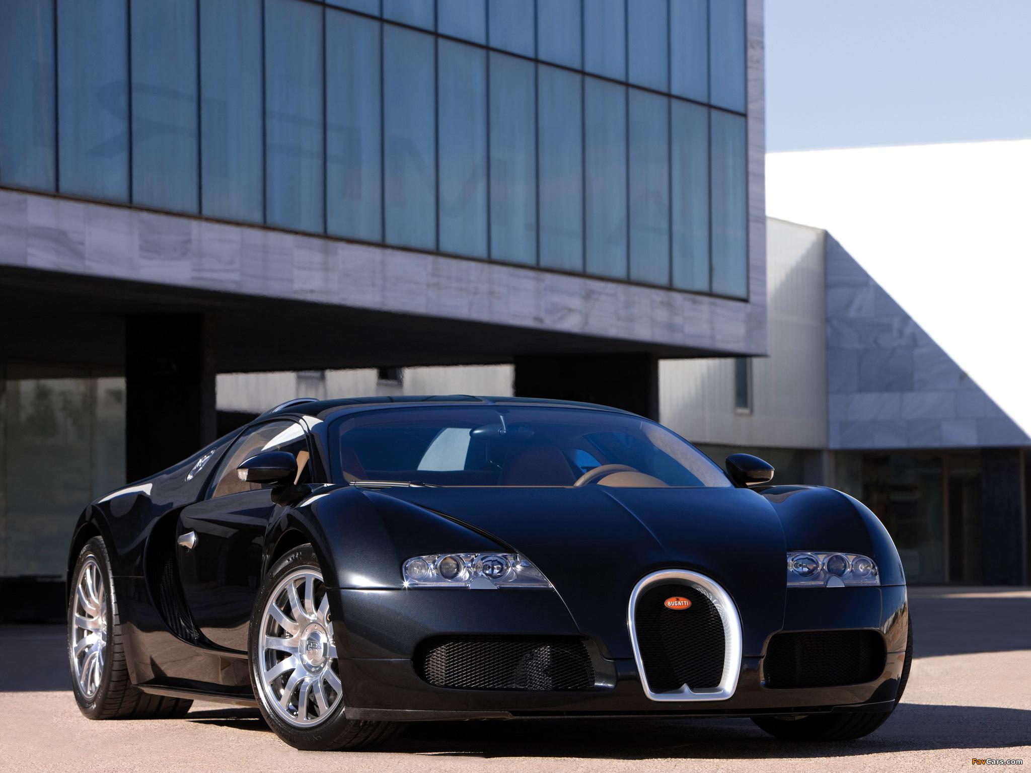 Bugatti Veyron 2005–11 pictures (2048 x 1536)