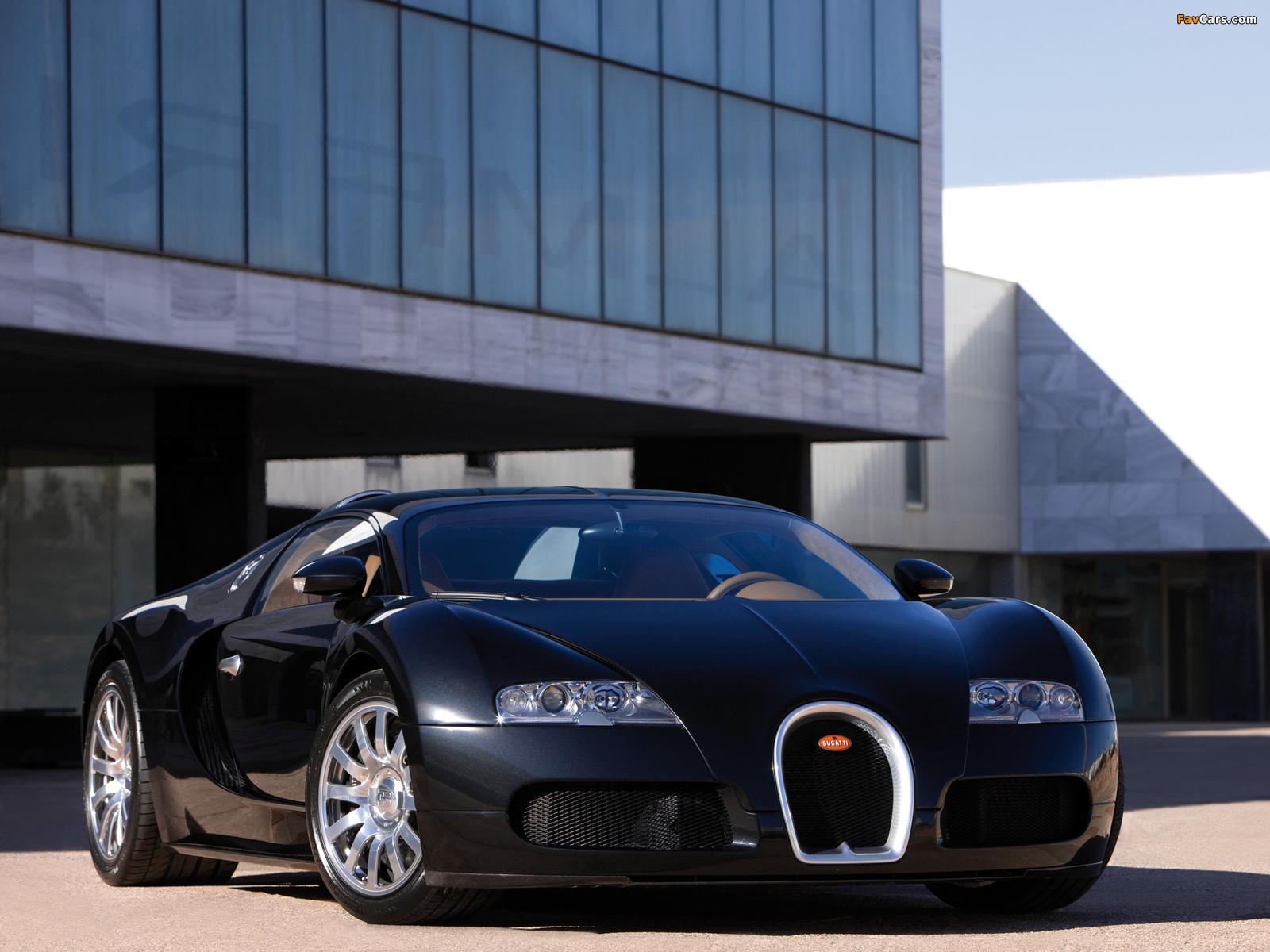 Bugatti Veyron 2005–11 pictures (1600 x 1200)