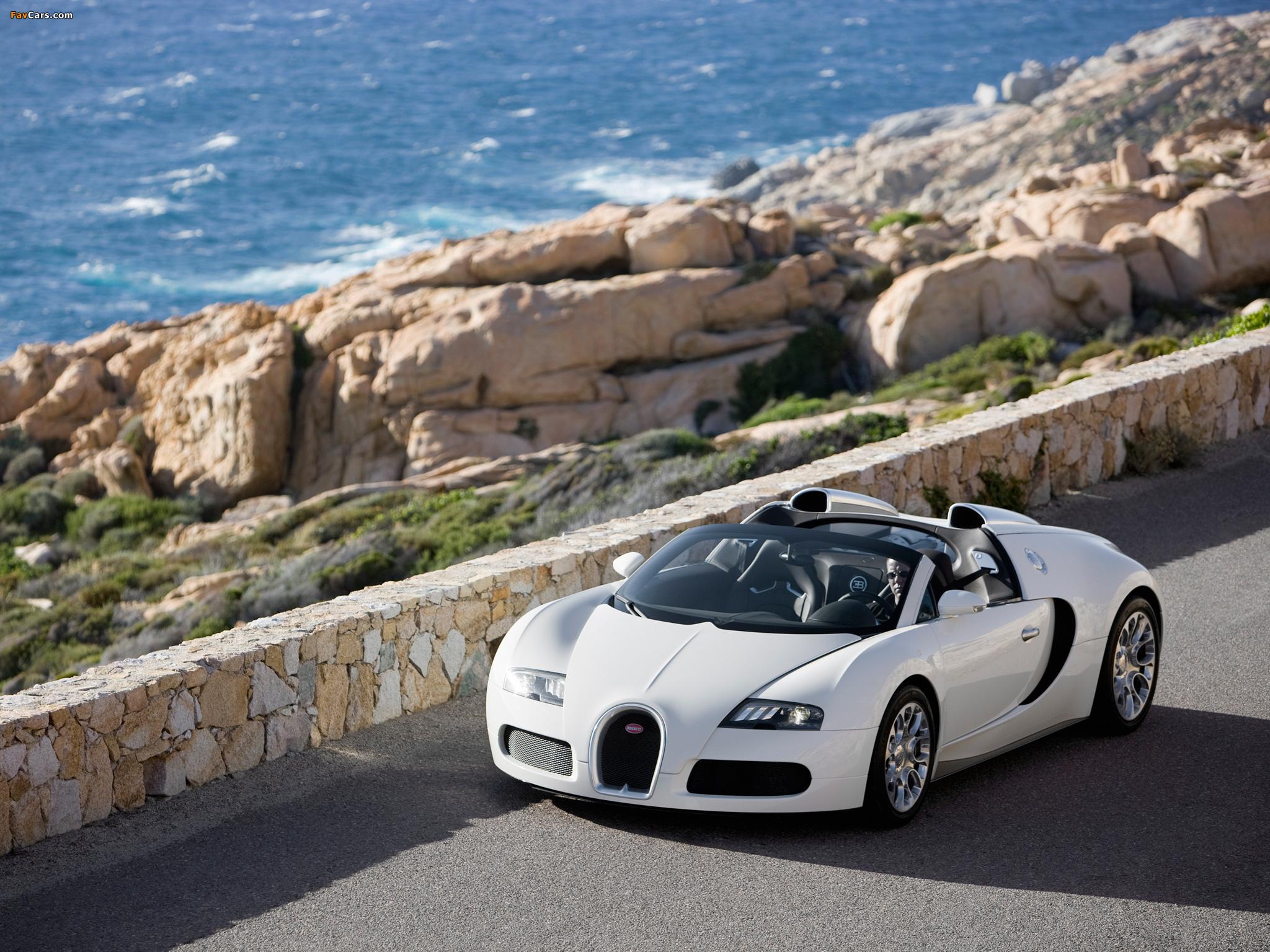 Bugatti у коттеджа бесплатно