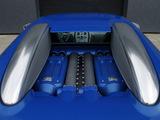 Bugatti Veyron Bleu Centenaire 2009 wallpapers
