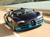 Bugatti Veyron Grand Sport Roadster Vitesse US-spec 2012 wallpapers