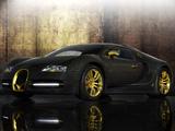 Mansory Bugatti Veyron Linea Vincero DOro 2010 images