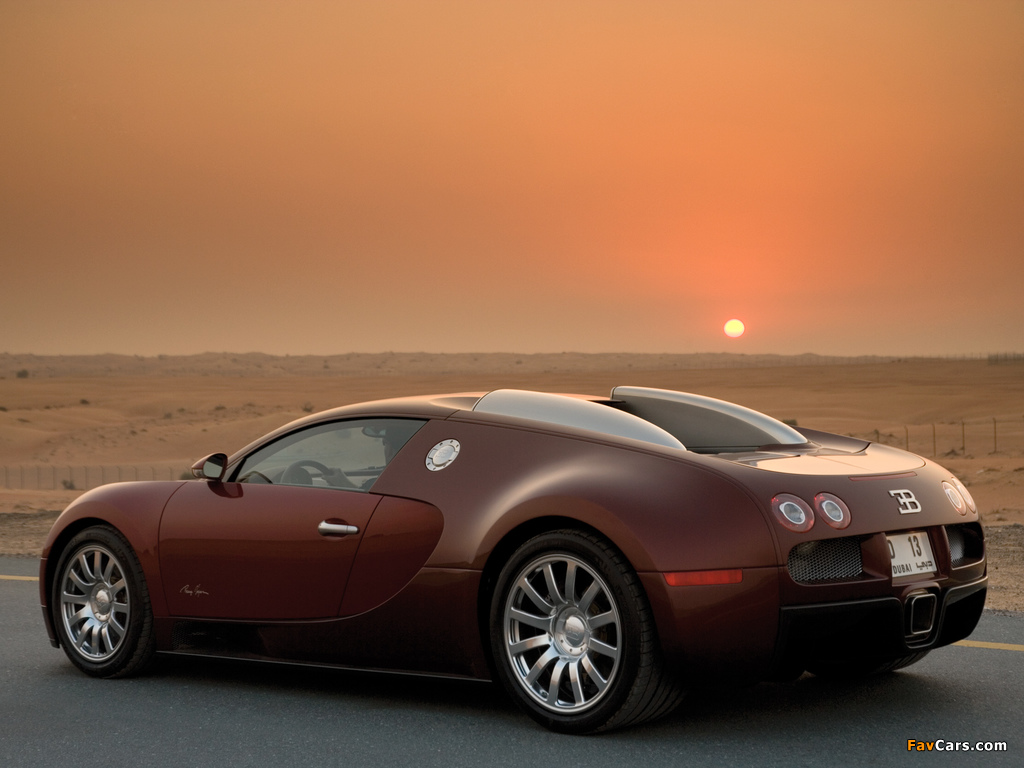 Bugatti Veyron 2005–11 wallpapers (1024 x 768)