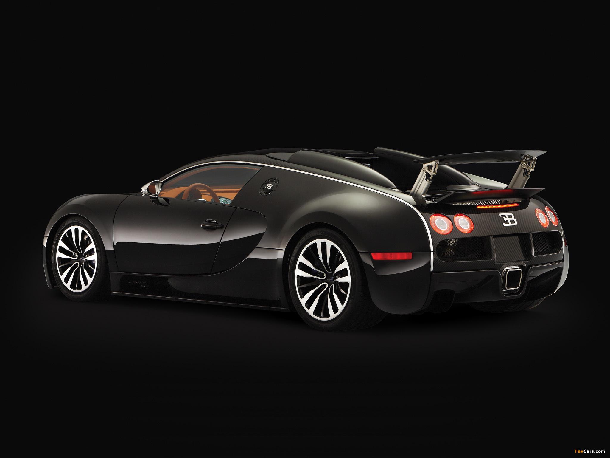 Bugatti Veyron Sang Noir 2008 wallpapers (2048 x 1536)