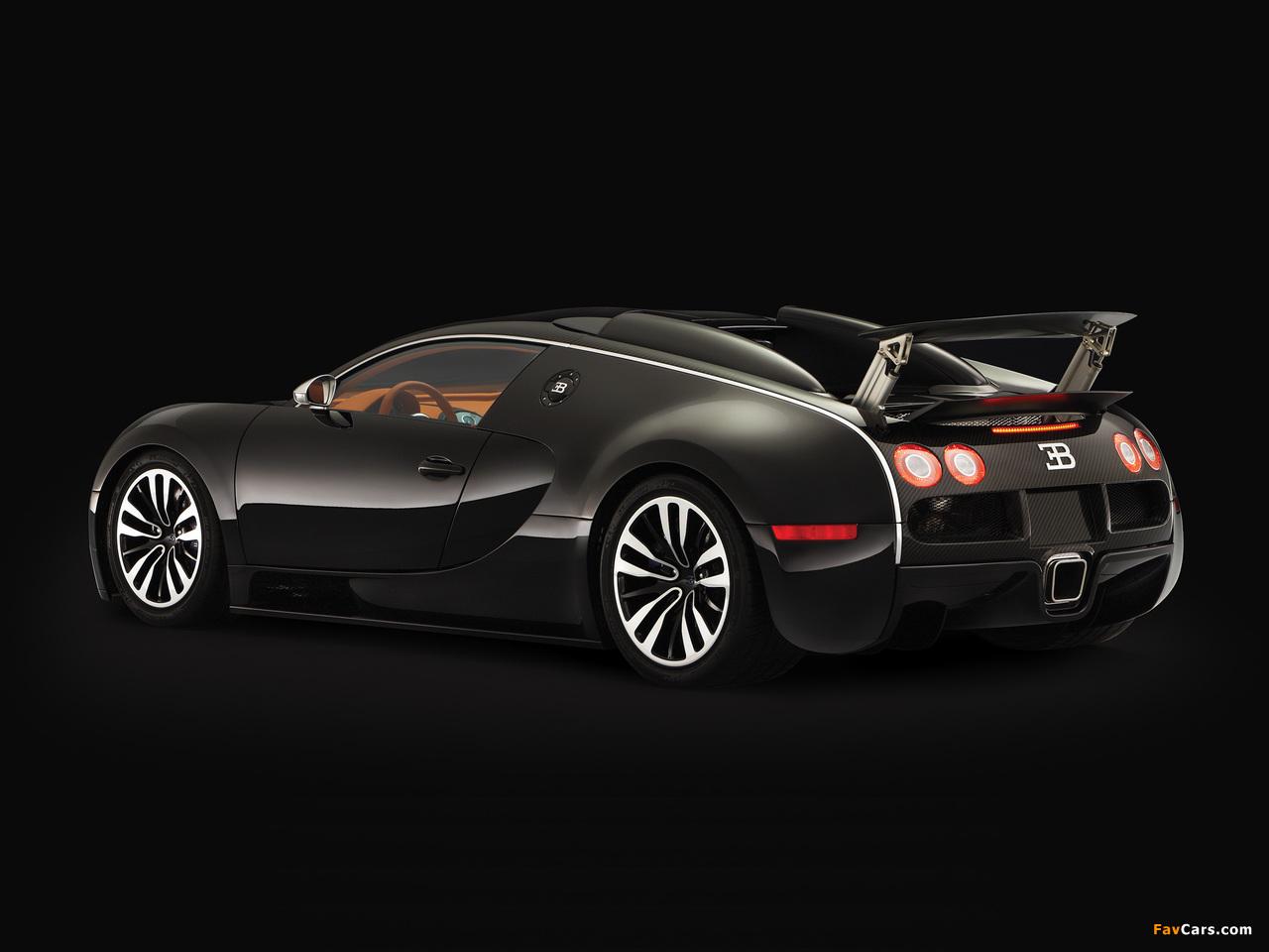 Bugatti Veyron Sang Noir 2008 wallpapers (1280 x 960)