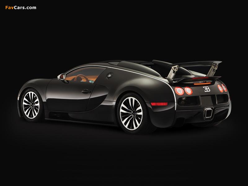 Bugatti Veyron Sang Noir 2008 wallpapers (800 x 600)