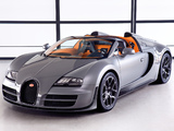 Bugatti Veyron Grand Sport Roadster Vitesse 2012 wallpapers