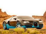 Bugatti Veyron Grand Sport Vitesse Drift 2014 wallpapers