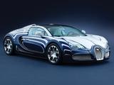 Bugatti Veyron Grand Sport Roadster LOr Blanc 2011 wallpapers