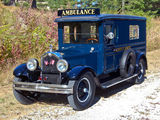 Pictures of Buick Ambulance by Hoover Carriage Company 1926