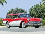 Buick Century Caballero Estate Wagon (69-4682) 1957 wallpapers