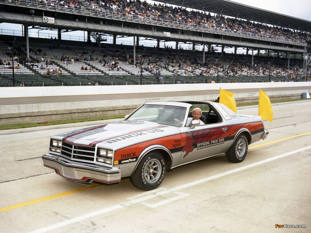 Images Of Buick Century Indy 500 Pace Car 1976 1024x768