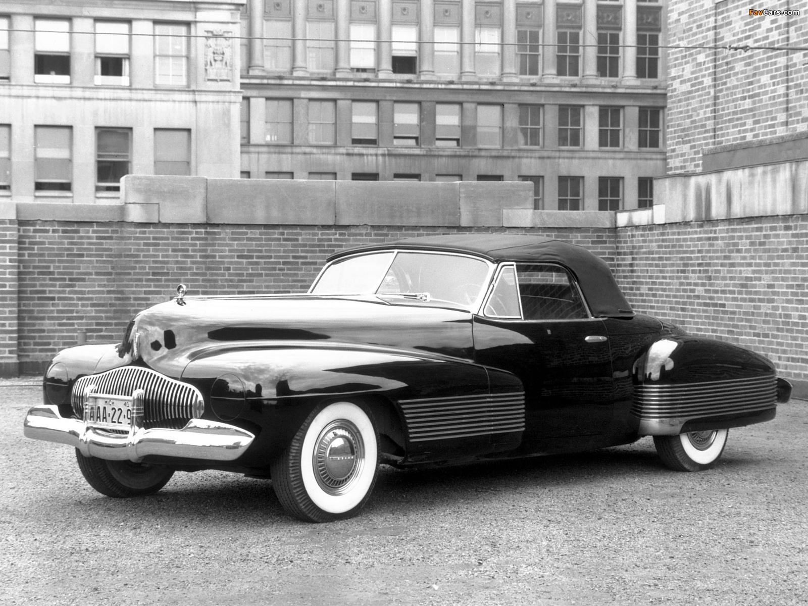 Buick Y Job Concept Car 1938 Images 1600x1200