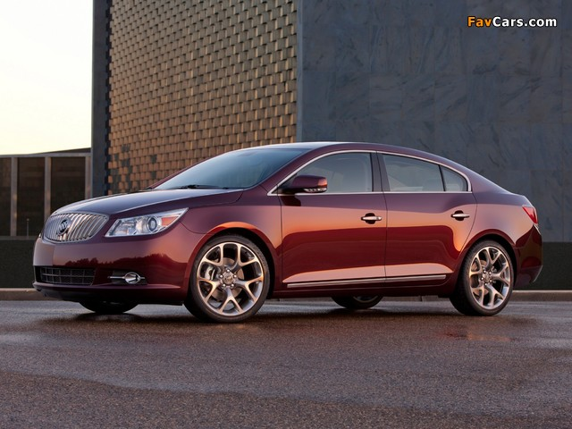 Images of Buick LaCrosse GL Concept 2011 (640 x 480)