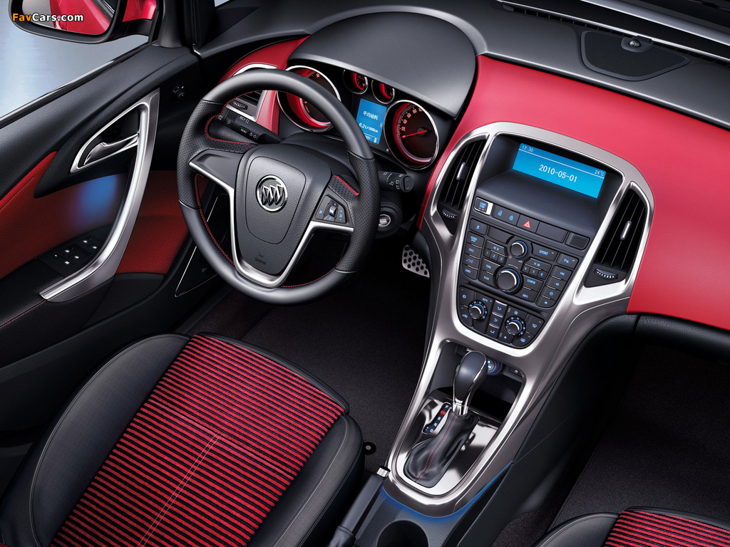 Photos of Buick Excelle GT 2010 (1024 x 768)