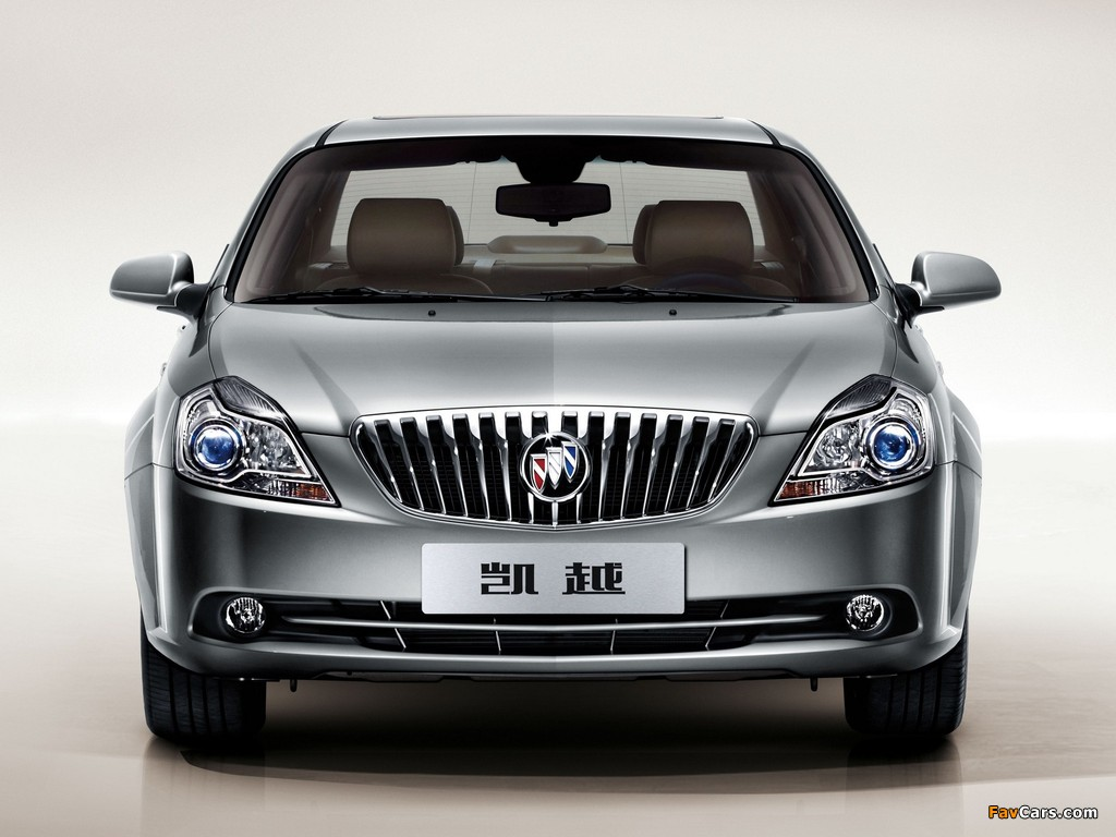Pictures of Buick Excelle 2013 (1024 x 768)