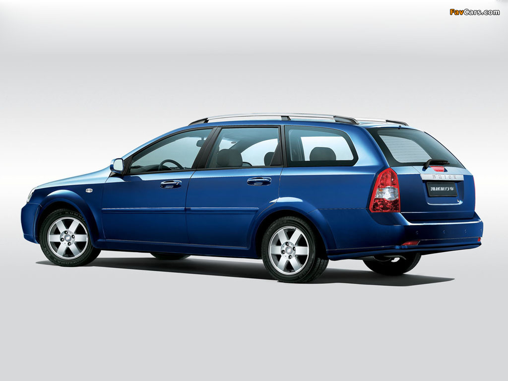 Buick Excelle Wagon 2004 09 Wallpapers 1024x768