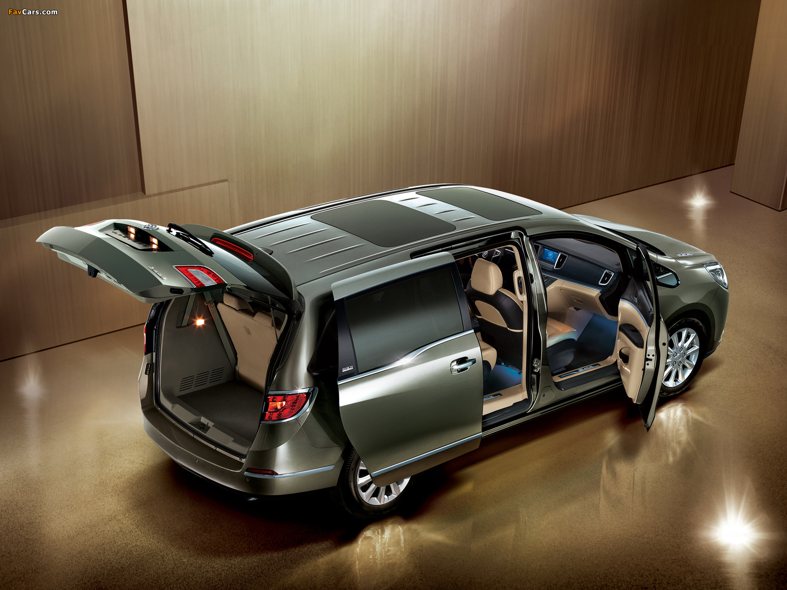 Buick GL8 2010 pictures (1600 x 1200)