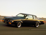 Buick GNX 1987 wallpapers