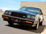 Pictures of Buick GNX 1987