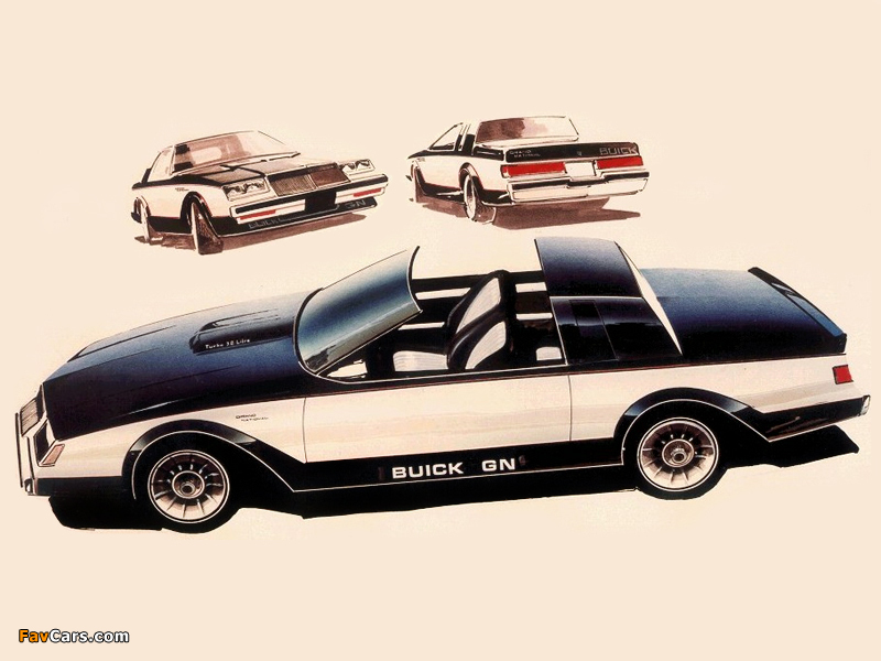 Images of Eckiz Buick Grand National Prototype 1982 (800 x 600)