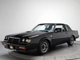 Photos of Buick Regal Grand National 1984–87