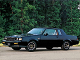 Buick Regal Grand National 1984–87 wallpapers