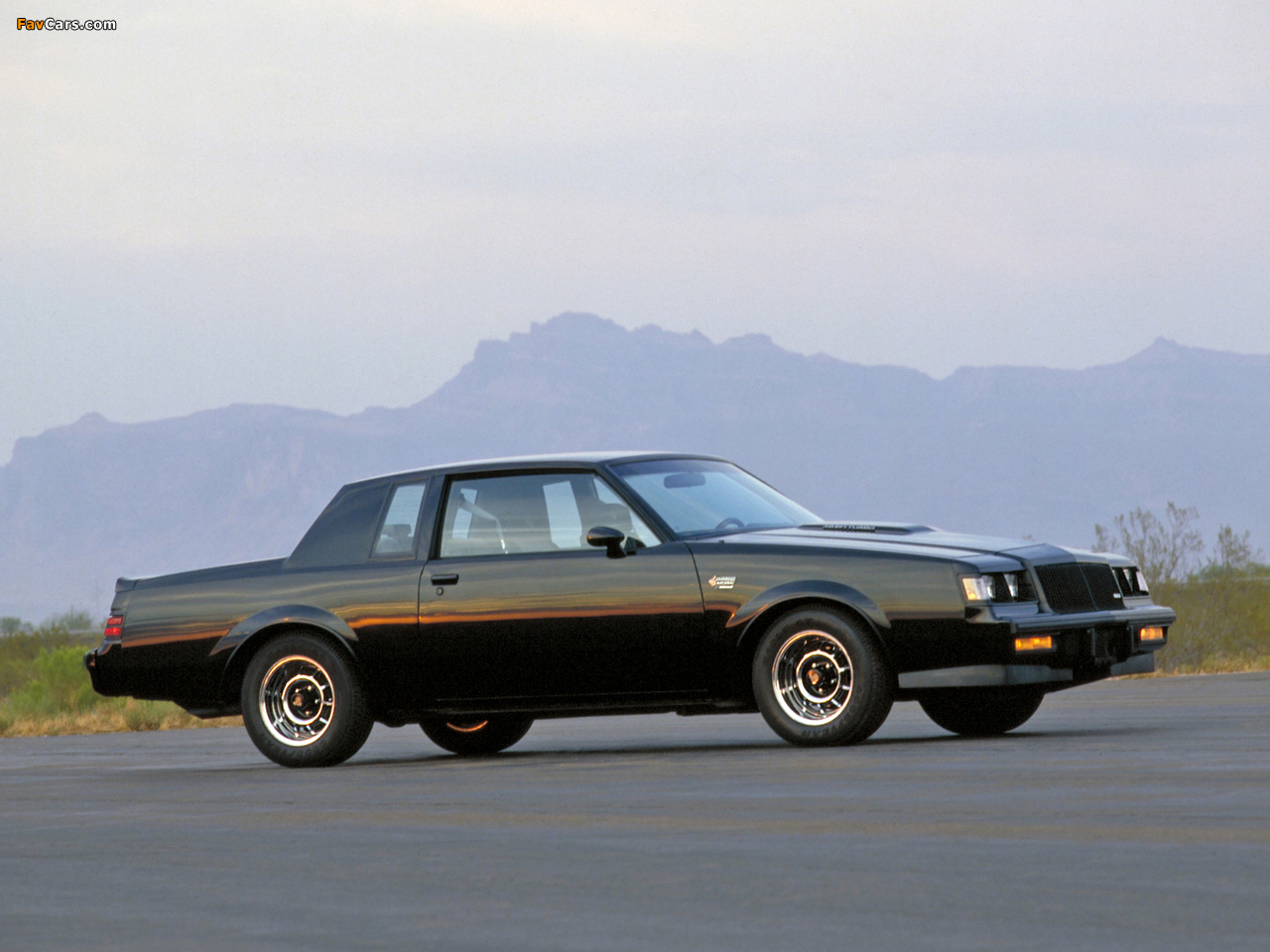 Buick Regal Grand National 198487 Wallpapers 1280x960