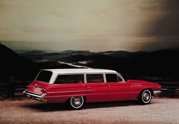 Buick Invicta Estate Wagon 1962 Wallpapers