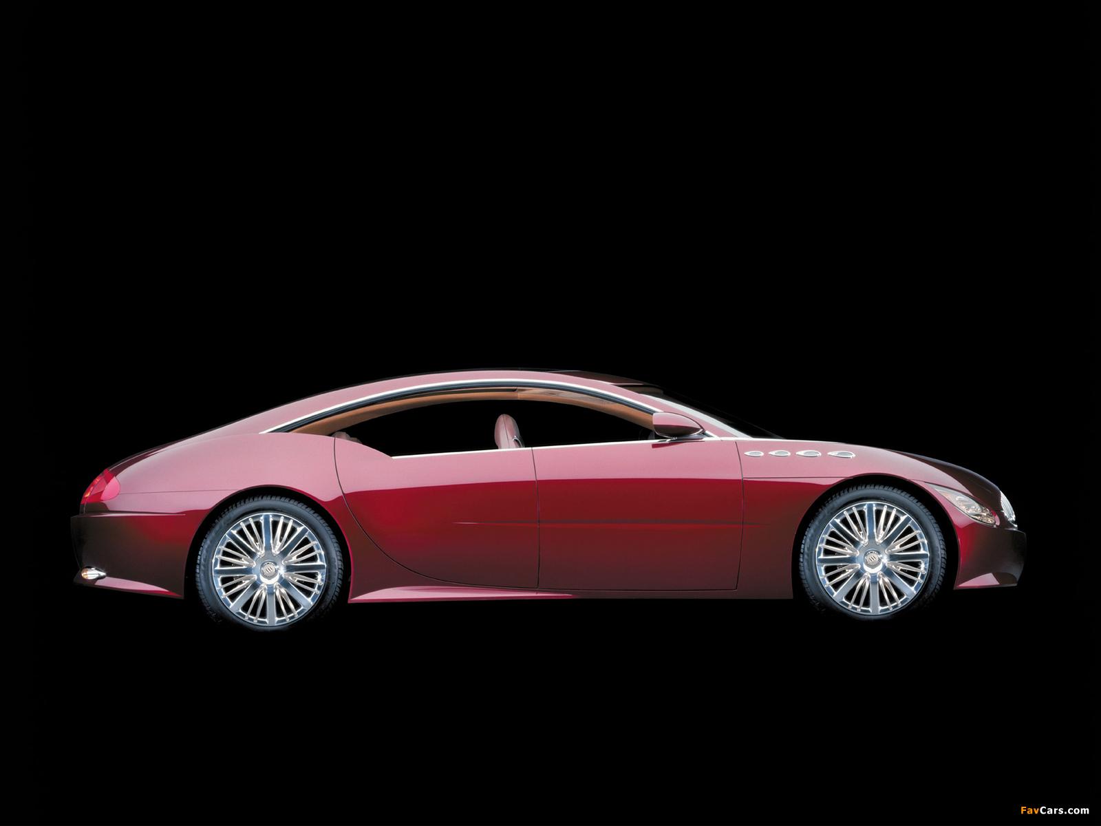 Buick LaCrosse Concept 2000 pictures (1600 x 1200)