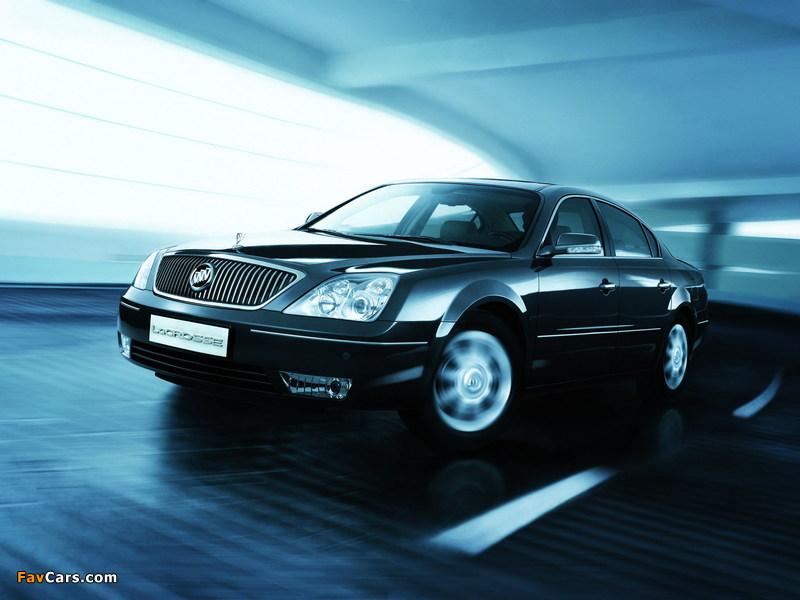 Buick LaCrosse CN-spec 2006–09 pictures (800 x 600)